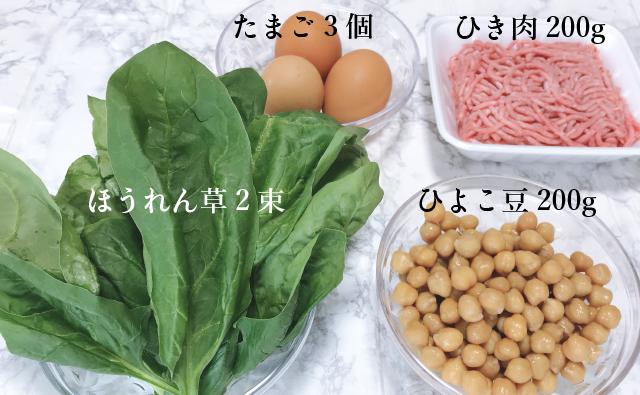 ひよこ豆で血流改善レシピ