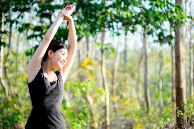 ヨガで自律神経を整えて血流改善を促す